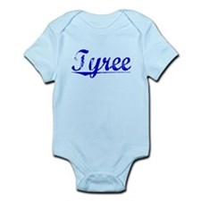 Tyree, Blue, Aged Infant Bodysuit