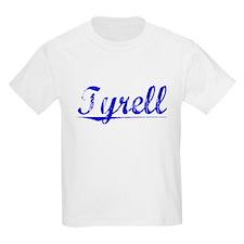 Tyrell, Blue, Aged T-Shirt