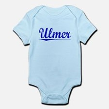 Ulmer, Blue, Aged Infant Bodysuit