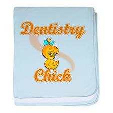 Dentistry Chick #2 baby blanket