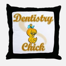 Dentistry Chick #2 Throw Pillow