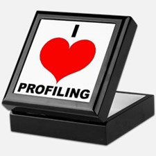 I Love Profiling Keepsake Box