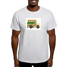 BACK TO SCHOOL Ash Grey T-Shirt