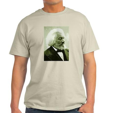"Frederick Douglass ""Agitate!"" Ash Grey T-Shirt"