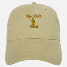 Disc Golf Chick #2 Baseball Baseball Cap