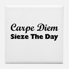 Carpe Diem Tile Coaster