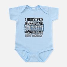 Hurricane Sandy New Jersey Infant Bodysuit