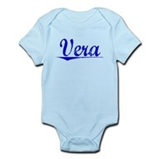 Vera, Blue, Aged Infant Bodysuit