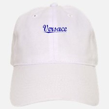 Versace, Blue, Aged Baseball Baseball Cap