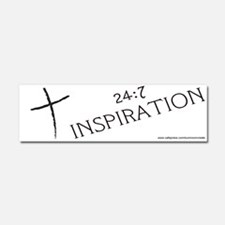 247 INSPIRATION Car Magnet 10 x 3