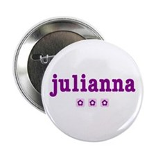 julianna - personalized Button