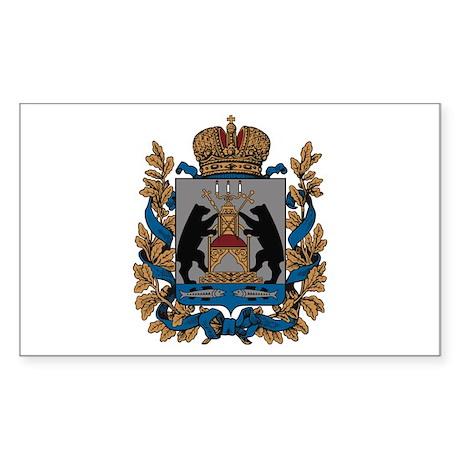 Novgorod Coat of Arms Rectangle Sticker