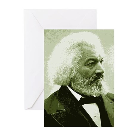 "Frederick Douglass ""Agitate!"" Greeting Cards (10)"