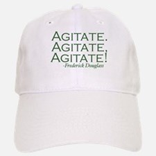 "Frederick Douglass ""Agitate!"" Baseball Baseball Cap"