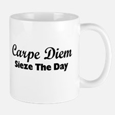 Carpe Diem Small Mugs