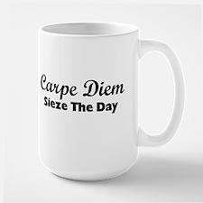 Carpe Diem Ceramic Mugs