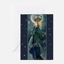 Moonlight Greeting Card Greeting Cards