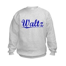 Waltz, Blue, Aged Sweatshirt