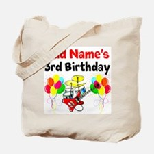 HAPPY 3RD BIRTHDAY Tote Bag