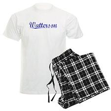 Watterson, Blue, Aged Pajamas