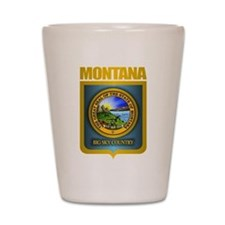 Montana Seal (back) Shot Glass