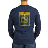 Big sky montana Long Sleeve Dark T-Shirts