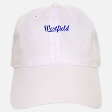 Westfield, Blue, Aged Baseball Baseball Cap
