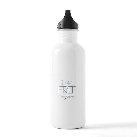 Ryan Jordan - I am Free Stainless Water Bottle 1.0