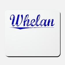 Whelan, Blue, Aged Mousepad