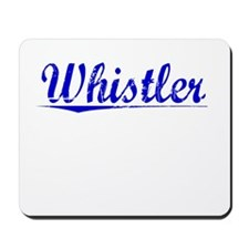 Whistler, Blue, Aged Mousepad