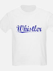 Whistler, Blue, Aged T-Shirt