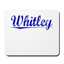Whitley, Blue, Aged Mousepad