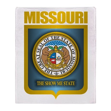 Missouri Gold Label Throw Blanket