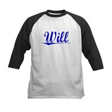 Will, Blue, Aged Tee