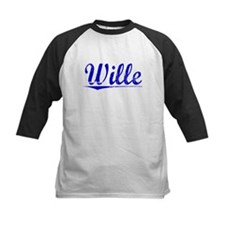 Wille, Blue, Aged Tee