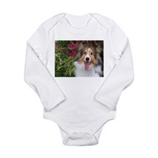 Lets Play Long Sleeve Infant Bodysuit
