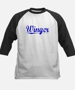 Winger, Blue, Aged Tee