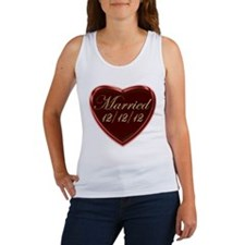 Wedding Dressed 12/12/12 Women's Tank Top