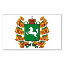 Tomsk Coat of Arms Rectangle Decal