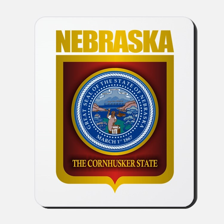 Nebraska Seal (back) Mousepad