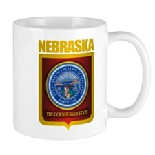 Nebraska Seal (back) Mug