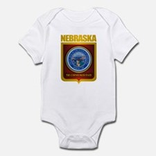 Nebraska Seal (back) Infant Bodysuit