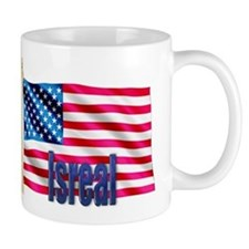 Isreal Personalized Patriotic USA Flag Gift Mug