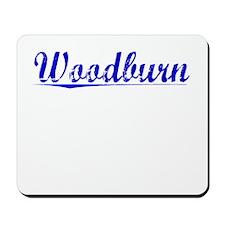 Woodburn, Blue, Aged Mousepad