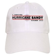 I Survived Hurricane Sandy Baseball Cap