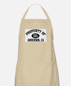 Property of ANDERSON BBQ Apron
