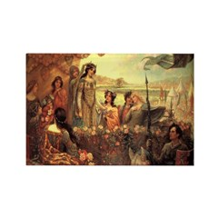 Lancelot and Guinevere Magnets (10 pack)