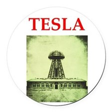 3.png Round Car Magnet