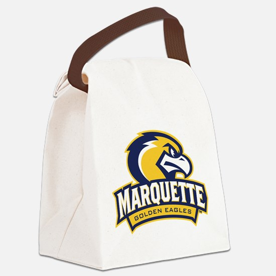 Marquette Eagle Canvas Lunch Bag