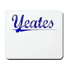 Yeates, Blue, Aged Mousepad